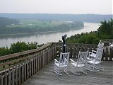 Ohio River overlook at Leavenworth