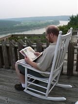 Jerry overlooking Ohio River